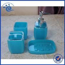 Colorful Plastic Crystal Purple Bath Accessories
