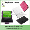 2014 ultra slim Wireless Bluetooth Keyboard Case 360 Degree Rotatable Stand For Ipad Mini