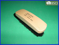 XB-025 100% Horse Hair Shoe Brush With Wooden Handle