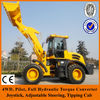Quick couple,tipping cab,55KW engine,2 ton payload ,joystick cheap china made wheel loader