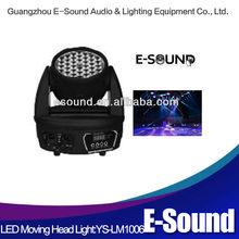 Good stage light equipment 36*1w/3w dj pro light moving head dmx