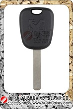 2015 new product Peugeot 307 key shell without logo and chip