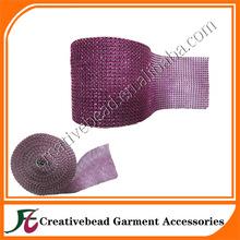 fuschia 24 deep mesh plastic banding wrap plastic cake wrap