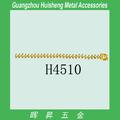 H4510 Aleación de oro cadena con cuentas