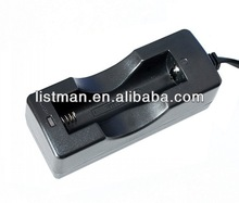 LI-ion 18650 Battery Charger, 4.2VDC 1ALi-ion 18650 Battery Charger