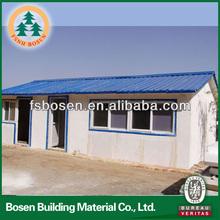 Cheap construction house small poultry house prefab caravan houses