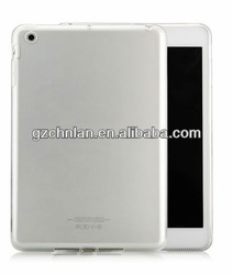 High quality for ipad mini clear tpu case