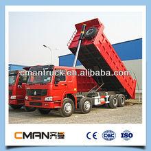 SINOTRUCK 2014 new howo 18m3 heavy duty truck 12 wheels low price sale