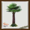 de plástico de ramas y hojas artificiales los árboles de palma
