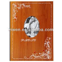 23x31.5cm Screw post bound album wooden sticky photo albums DIY photo album