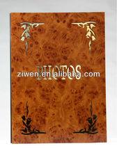23x31.5cm Indian wooden wedding photo album covers design
