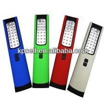 Magnetic 24 LED Work Light with 4 LED Flashlight led magnetic work light sewing machine work light