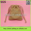 High quality new jute drawstring burlap bag wholesale