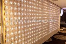 Clear Crystal wedding backdrop curtain