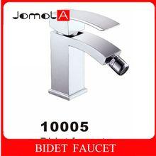 Single handle single hole Deck mounted Chrome plating Bidet faucet