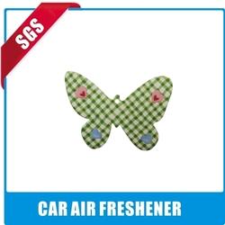 2013 make hanging paper car air freshener with print logo