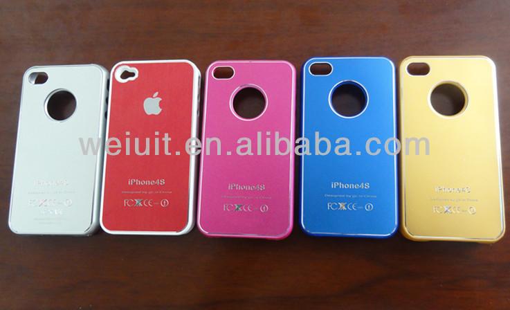 custom plain hard plastic phone case for iPhone 4/4s/5/5c/5s
