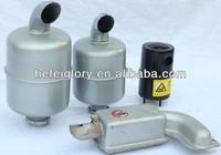 high quality single cylinder diesel engine spare parts muffler