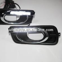 For HONDA City 4pcs LED DRL Daytime Running Light 2008-2012 Year V1