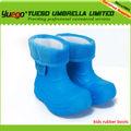 2014 kaliteli çocuk mavi çizme ayakkabı