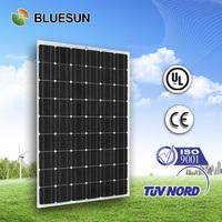 Bluesun top quality cheap price 54cells mono 220w panel solar india