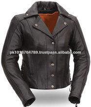 Leather Motorcycle Jackets Women, Trendy Modern Women Leather Jackets