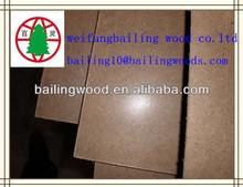 1220 * 2440 MM plain hardboard masonite waterproof hardboard
