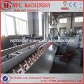 produzir cerca móveis moldura de piso de madeira composto plástico material wpc extrusora de plástico madeira