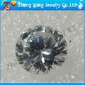 Branco cúbicos de zircônia gemstone para brincos, preço de fábrica