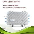 Televisión por cable al aire libre óptico receptor/al aire libre óptico receptor/de televisión por cable