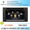 Car DVD Player With Gps navigation For Peugeot 307 Radio 3G/Wifi Audio 3D Stereo
