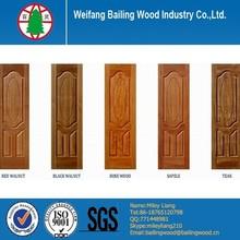 Hdf veneer plywood melamine mould door skins