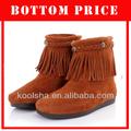 2013 nouveau style des femmes botte en cuir véritable