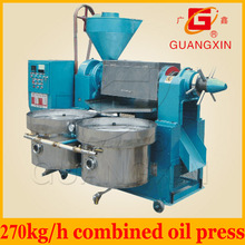 hot cold both pressing oil expeller machine combination type with oil filter (purifier)