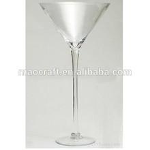 tall martini glass centerpiece