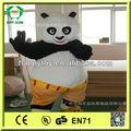 hi ce di alta qualità top vendita kung fu panda costume mascotte per gli adulti