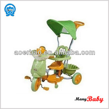 Lovely Safety Baby Trike Tricycle With Toy