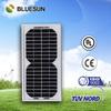 Bluesun most popular mini 5 watt portable solar panel for phone charger