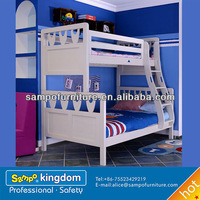 kids cartoon bed of solid wooden bunk bed#SP-SC012S