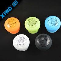 Shower Rroom Suction Cup Mushroom Bluetooth Speaker Mini Portable