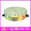 Caliente la venta de la alta batería de calidad, Instrumentos musicales de madera conjunto, Estilo de moda Musical tambor conjunto WJ278115
