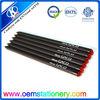 "7"" fashion black wooden pencil/black wooden diamond pencil/"