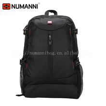 high quality brand guarantee waterproof durable nylon black backpack