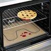 PTFE coated fiberglass black baking sheet, reusable cooking mat