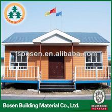 light steel structure prefabricated beach villa houses