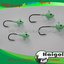 Exporting low price jig head hooks, lead head hooks