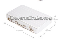 plexiglass brochure holder/gift item/Namecard holder/card case/aluminium card holder/credit card holder/id card holder