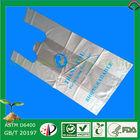 Bridge plastic bag for laundry shop