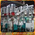 Petite échelle machine de minoterie, moulin à farine de blé, bob rouge. moulin à farine d'amande