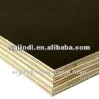 Poplar core black film faced plywood